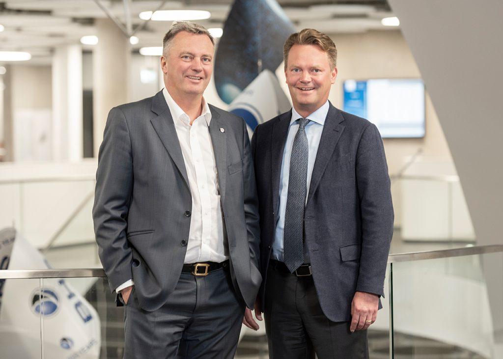 Christian Engel und Lars Engel - Geschäftsführung BHS Corrugated