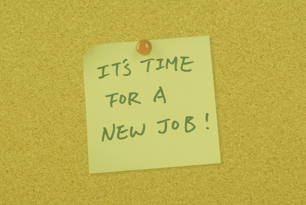 It´s time for a new Job!